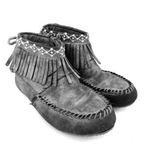 Hanna Anderson Girls Moccasin Bootie